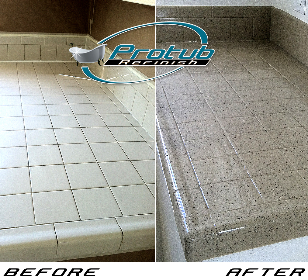 angeles before reglazing tile stripping los tub bathtub refinishing process stripped schaumburg counter